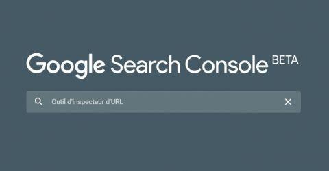 Nouvel outil d'inspection des URLs dans la Google Search Console