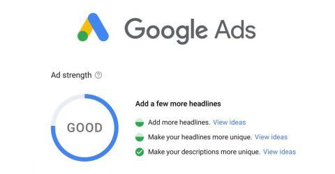 Google Ads introduit l'Ad Strength