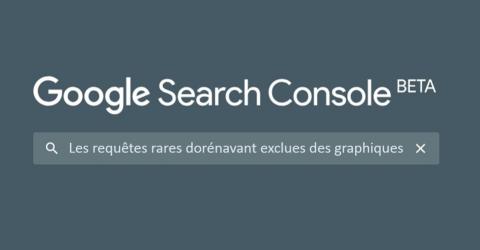 La Google Search Console devient de moins en moins fiable