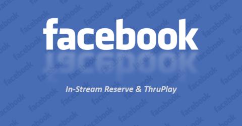 Facebook permet la réservation de vidéos et l'achat à la vidéo vue à 100%